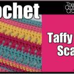 Crochet Taffy Pull Scarf
