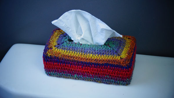 Crochet Tissue Box Cover Pattern
