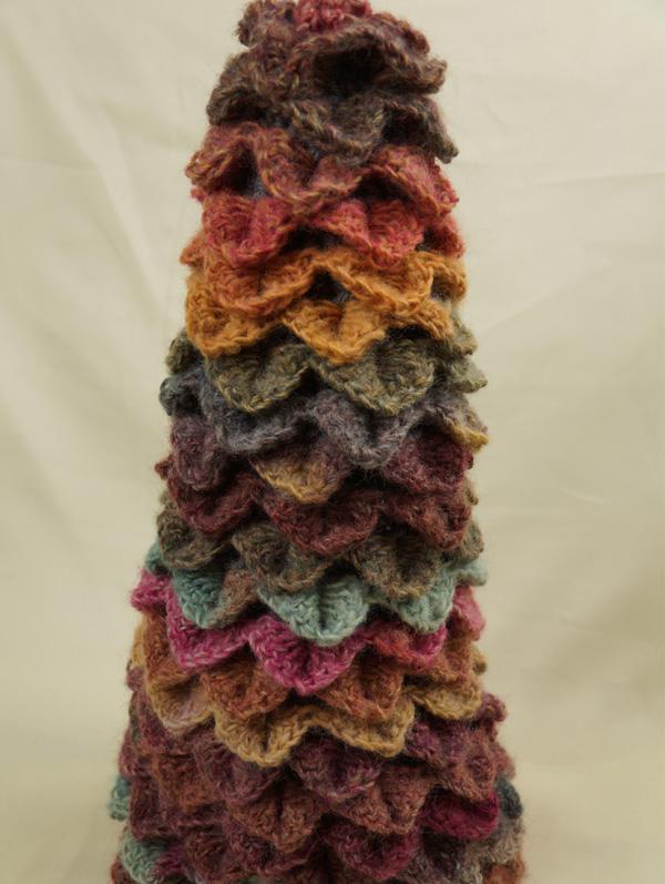 Lion Brand Amazing Topiary Tree Crochet Pattern