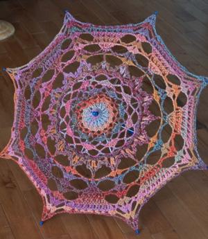 Crochet Shade Umbrella Pattern