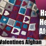 Happy Hearts Crochet Afghan