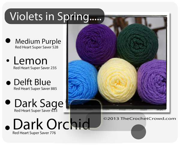 Violets Yarn Colours
