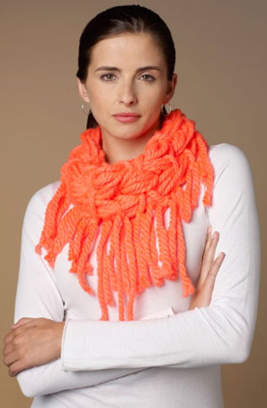 Vivid Cowls Made Simple, Knit & Knot Technique