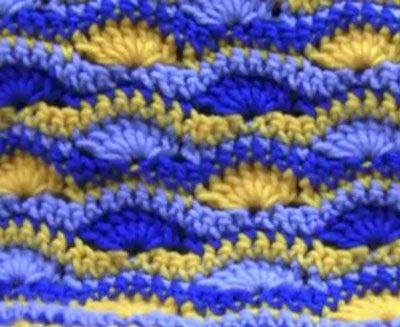 How To Crochet Wavy Shell Afghan