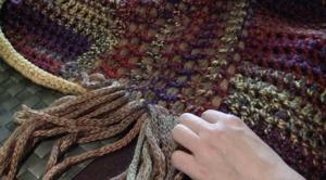 Crochet Woven Mat