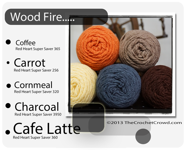 Wood Fire Yarn Colours