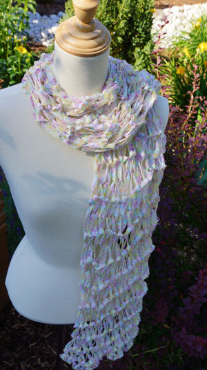 Knitted Scarf / Wrap Pattern
