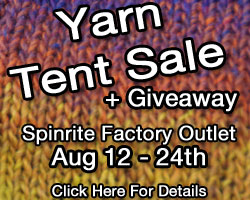 Tent In A Box Yarn Giveaway