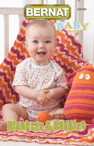 Bernat Blankets & Buddies Crochet Book Review