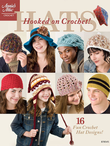 Hooked On Hats - Annies Attic Patterns