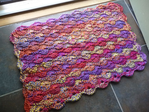 Colorful Quick Crochet Mat Pattern