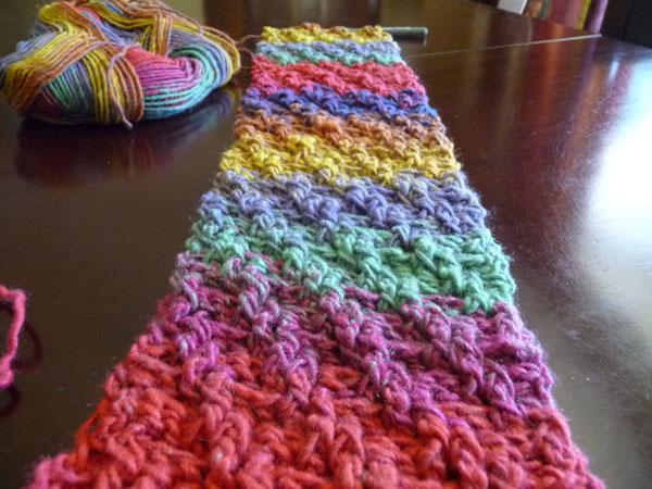Bernat Mosaic Yarn Free Crochet Patterns : Bernat Mosaic Yarn Scarf Patterns LONG HAIRSTYLES